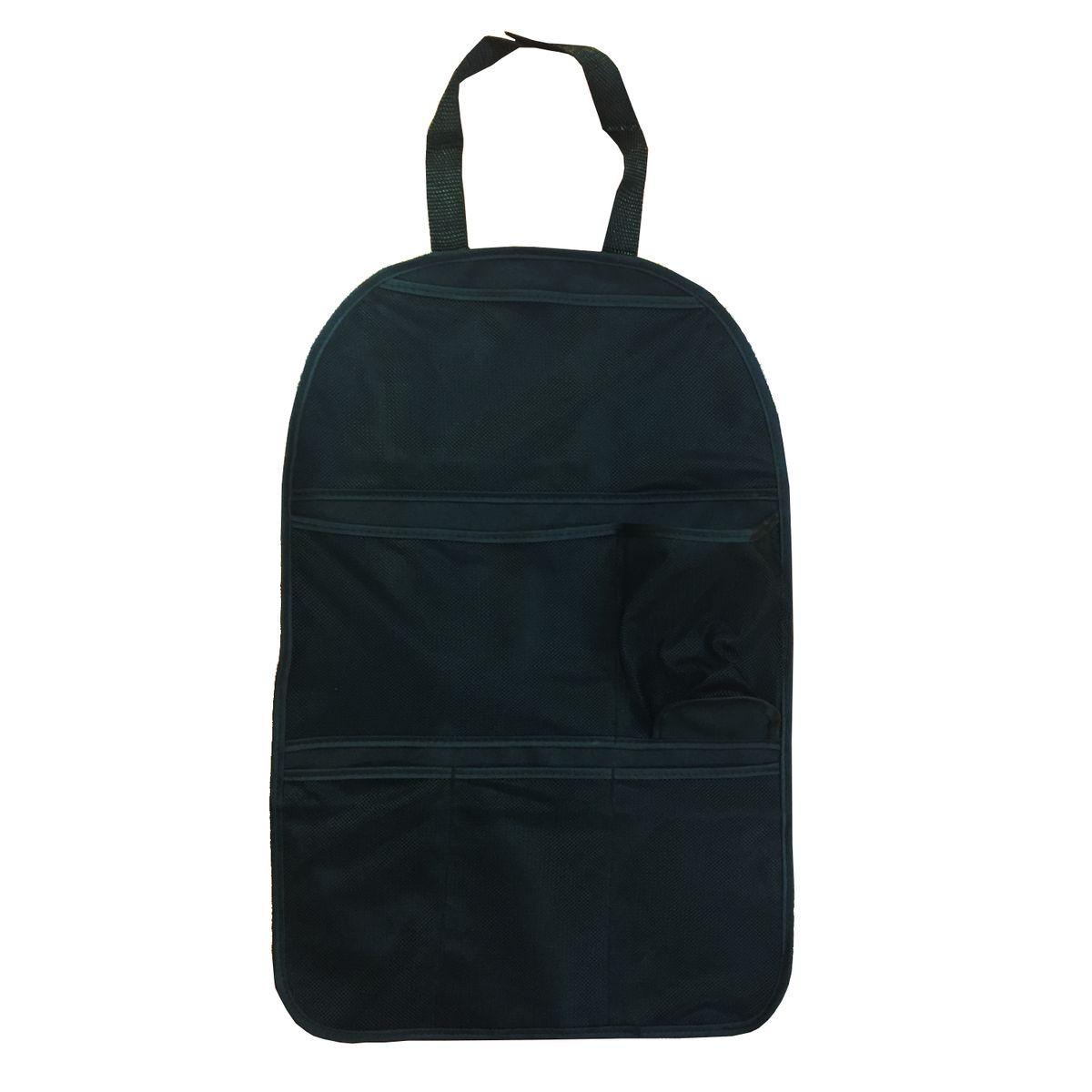Органайзер Homsu, на спинку переднего сидения, цвет: черный, 25 x 42 см украшение декоративное homsu голова оленя 29 5 x 46 x 42 5 см