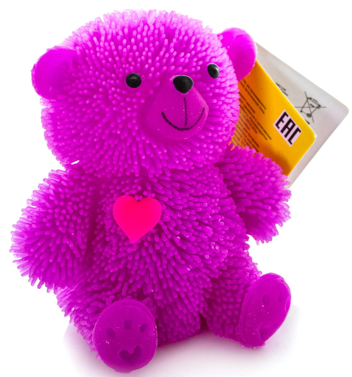 HGL Фигурка Медведь с подсветкой цвет фиолетовый