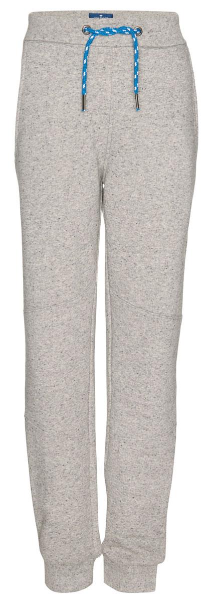 Брюки спортивные для мальчика Tom Tailor, цвет: серый. 6829053.00.30_1000. Размер 1646829053.00.30_1000Детские спортивные брюки выполнены из высококачественного материала. Модель дополнена широким эластичным поясом с кулиской.