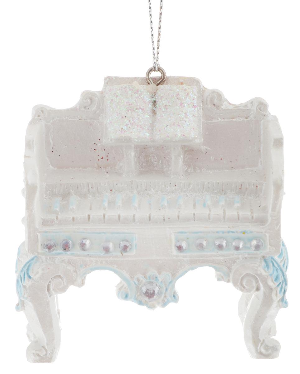 Украшение новогоднее подвесное Winter Wings Клавесин, 6,5 х 2,7 х 6,5 см новогоднее подвесное украшение собака ф21 1716