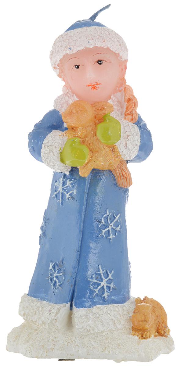 Свеча Winter Wings Снегурочка, высота 12 смN161167Свеча Winter Wings Снегурочка, изготовленная из парафина, станет прекрасным украшением интерьера помещения в преддверии Нового года. Такая свеча создаст атмосферу таинственности и загадочности и наполнит ваш дом волшебством и ощущением праздника. Хороший сувенир для друзей и близких.