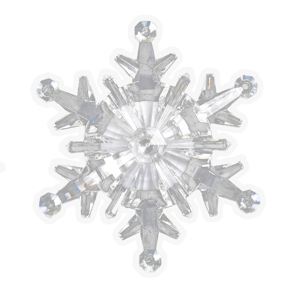 Фигура светодиодная Vegas Снежинка, на присоске, 10,5 х 10,5 см, свет: мультиколор. 5505555055Фигурка светодиодная Vegas Снежинка крепится на стекло, зеркало или на любую другую гладкую поверхность с помощью присоски. Фигурка меняет цвет.Размер изделия: 105 х 105 мм. Батарейка в комплекте.