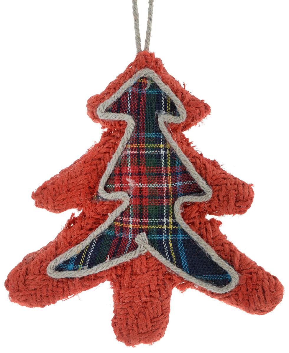 Украшение новогоднее подвесное Winter Wings Елочка, 12 х 11,5 х 1 смN181245Новогоднее подвесное украшение Winter Wings Елочка прекрасно подойдет для праздничного декора новогодней ели. Изделие выполнено из полиэстера. Для удобного размещения на елке на украшении предусмотрена текстильная петелька. Елочная игрушка - символ Нового года. Она несет в себе волшебство и красоту праздника. Создайте в своем доме атмосферу веселья и радости, украшая новогоднюю елку нарядными игрушками, которые будут из года в год накапливать теплоту воспоминаний.Откройте для себя удивительный мир сказок и грез. Почувствуйте волшебные минуты ожидания праздника, создайте новогоднее настроение вашим дорогим и близким.