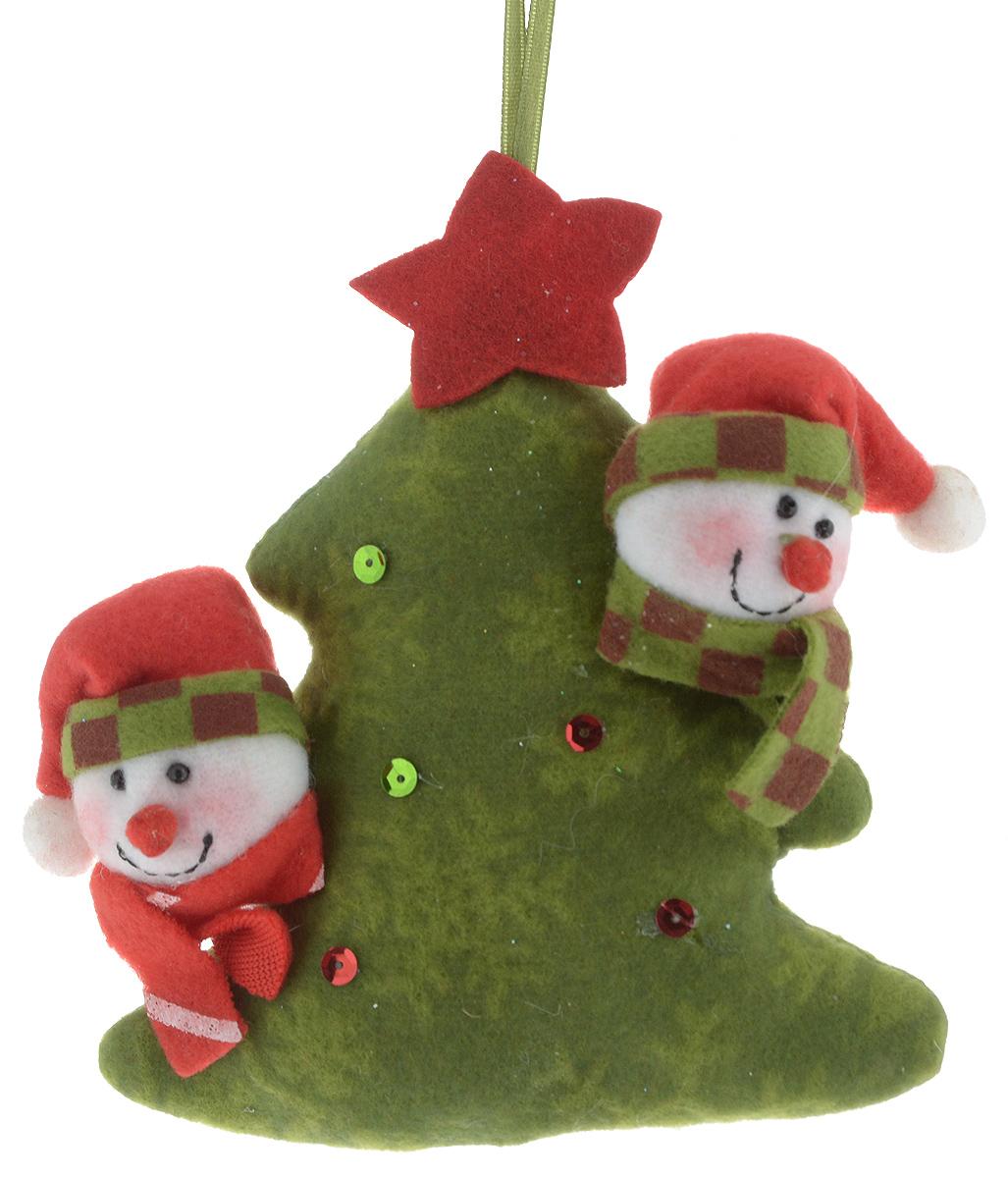 Украшение новогоднее подвесное Winter Wings Елка, 12,5 х 14,5 х 3,5 см украшение новогоднее настенное win max дед мороз 31 х 56 см