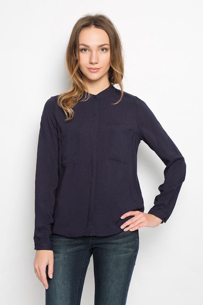 Блузка женская Broadway Ressie, цвет: темно-синий. 10156633_541. Размер M (46) broadway блузка