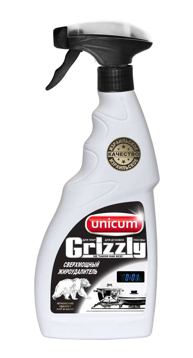 Жироудалитель Unicum Гризли, 500 мл