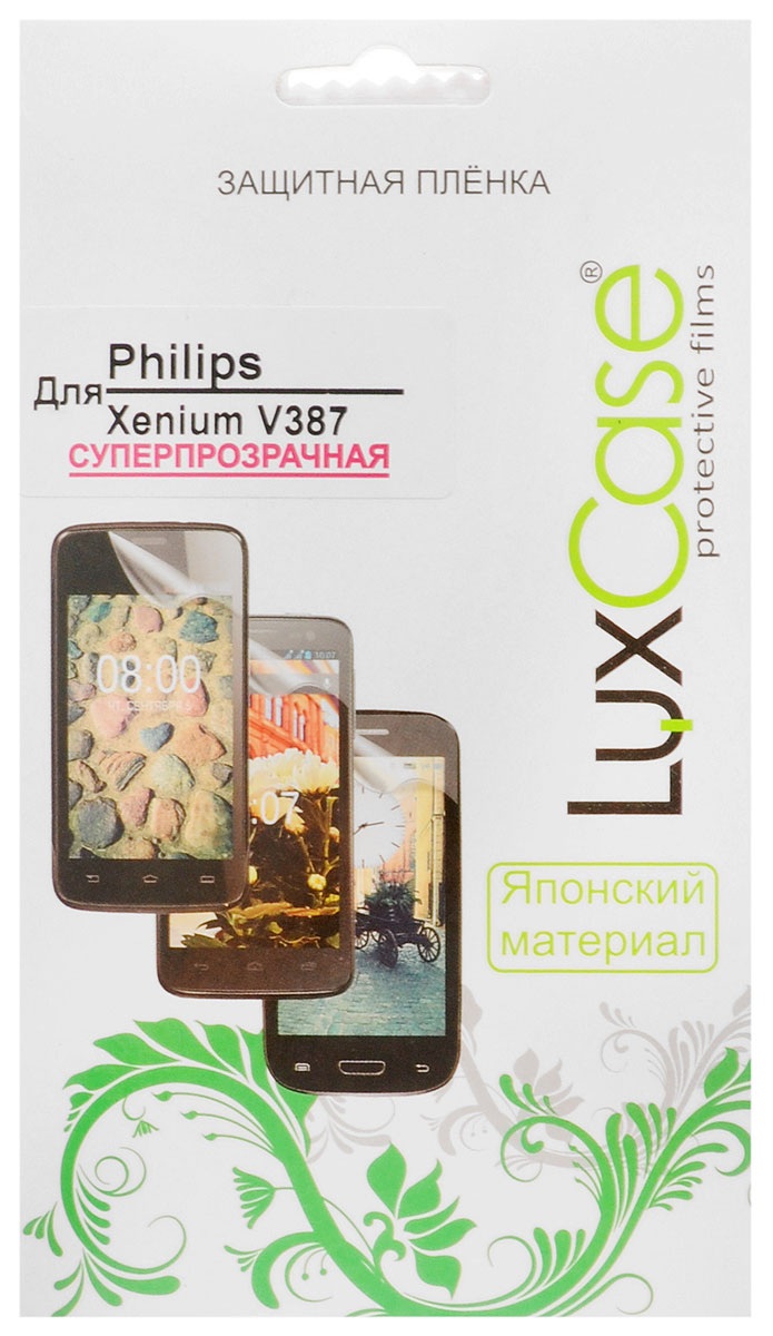 Luxcase защитная пленка для Philips Xenium V387, суперпрозрачная нож victorinox нож разделочный swissclassic 6 8006 19l4b