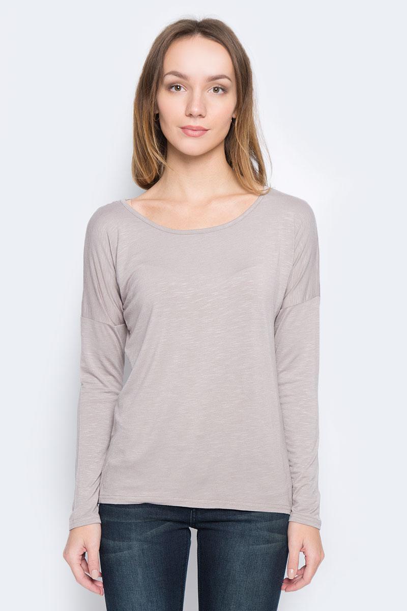 Лонгслив женский Broadway Redell, цвет: серо-коричневый. 10156887_799. Размер M (46) платье broadway ophira цвет бордовый 10156494 335 размер m 46
