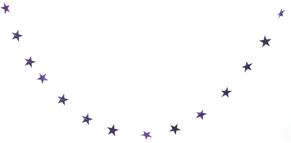 Растяжка декоративная Winter Wings Звездочки, цвет: сиреневый, 8 х 270 смN09163_сиреневыйНовогодняя декоративная растяжка Winter Wings Звездочки прекрасно подойдет для декора дома и праздничной елки. Украшение выполнено из ПВХ. С помощью пластиковых колец растяжку можно повесить в любом понравившемся вам месте.Новогодние украшения несут в себе волшебство и красоту праздника. Они помогут вам украсить дом к предстоящим праздникам и оживить интерьер по вашему вкусу. Создайте в доме атмосферу тепла, веселья и радости, украшая его всей семьей.