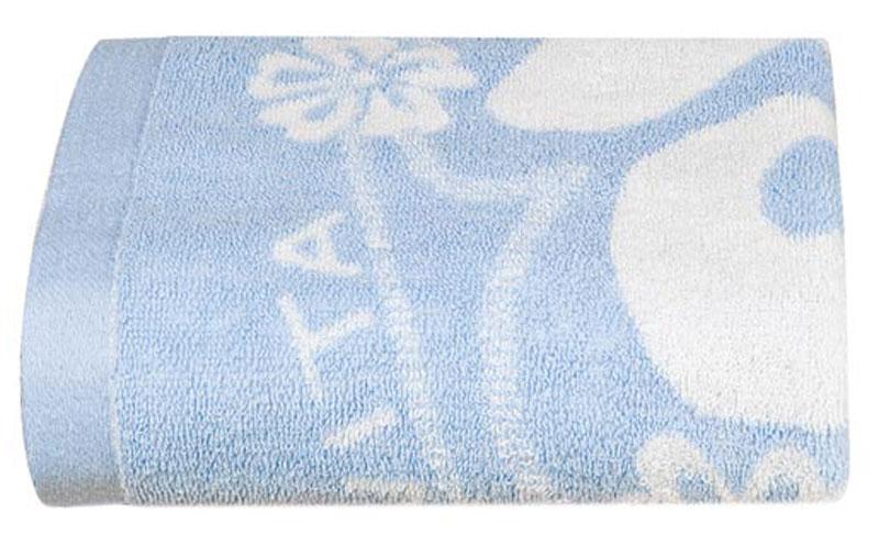 Полотенце Soavita Цветы, цвет: голубой, белый, 68 х 135 см87504Банное полотенце Soavita Цветы выполнено из 100% хлопка с мягким ворсом и оформлено цветочным принтом. Изделие отлично впитывает влагу, быстро сохнет, сохраняет яркость цвета и не теряет форму даже после многократных стирок. Полотенце очень практично и неприхотливо в уходе. Оно создаст прекрасное настроение и украсит интерьер в ванной комнате.Перед использованием постирать при температуре не выше +40°С.