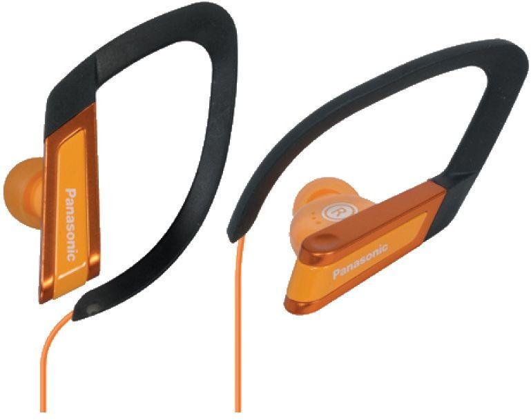 Panasonic RP-HS200E-D, Orange наушникиRP-HS200E-DНаушники Panasonic RP-HS200E-D идеально подойдут для занятий спортом. Panasonic RP-HS200E-D воспроизводят мощные басы и обеспечивают комфортную посадку, а их конструкция защищена от воздействия пота и дождя. Эти наушники очень легкие (всего 8 г) и настолько удобные, что вы не вспомните о них даже при длительном прослушивании. Они идеально подходят для завершения самого трудного последнего этапа тренировки. 12,4-мм излучатели обеспечивают великолепное звучание, которое помогает достичь превосходных результатов.Ни пот, ни дождь больше не станут помехой для наслаждения любимой музыкой. Эти спортивные наушники изготовлены из материалов, которые не боятся влаги и пота. Идеальный выбор для тренировок в любых погодных условиях. Какой бы способ ношения вы ни выбрали, Panasonic RP-HS200E-D обеспечивают надежную посадку, чтобы вы могли сосредоточиться на тренировке. Зажим с креплением-крючком создан для экстремального и профессионального спорта, а фиксатор посадки С-образной формы идеально подходит для выполнения обычных упражнений.