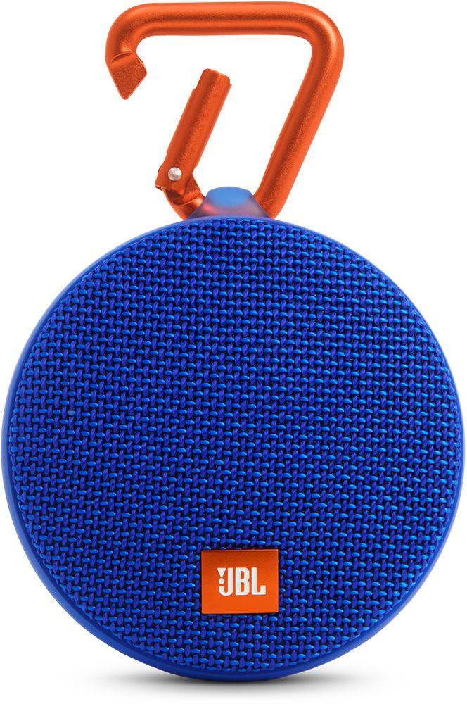 JBL Clip 2, Blue портативная колонка - Портативная акустика