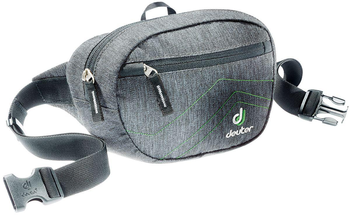 Сумка поясная Deuter Organizer Belt, цвет: черный, 1,8 л