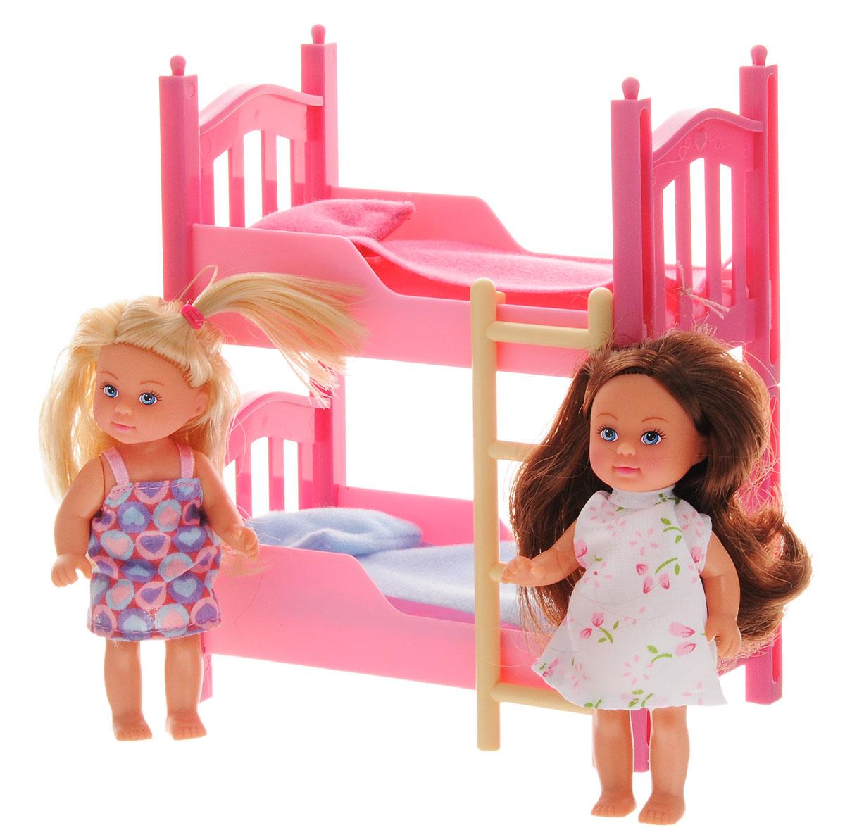 Simba Кукла Еви с подружкой simba кукла evi