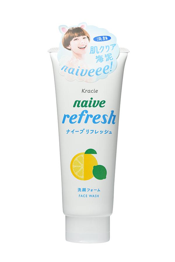 Kracie 67444kr Naive Пенка для умывания с ароматом цитрусовых, 130 г пенка для умывания с антибактериальным эффектом skinlife 130 г