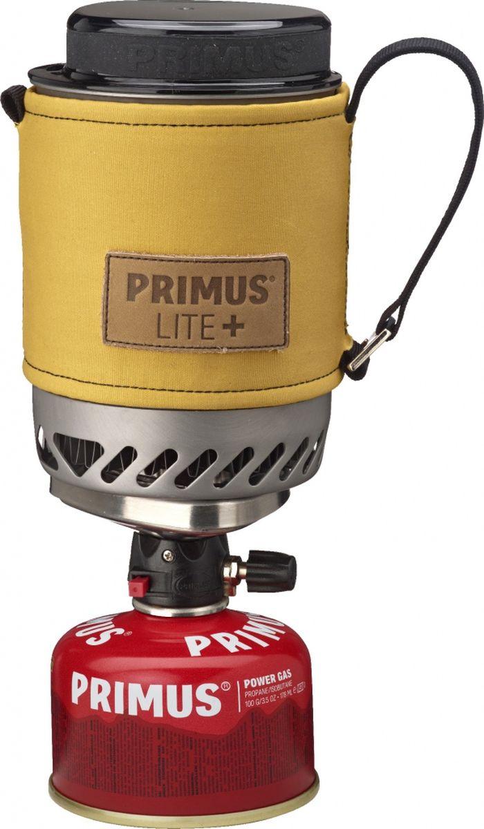 Горелка газовая Primus Lite Plus, цвет: желтый. P356007P356007Модель Lite + устанавливает новый стандарт для компактных горелок. Уникальный механизм блокировки (подана заявка на патент) делает его очень простым в использовании. Благодаря ламинарному потоку газа Burner Technology (подана заявка на патент) уменьшаются затраты газа. Идеально подходит для соло поездки или кофе-брейка для двоих (дополнительно есть в продаже кофе пресс). Горелка и все аксессуары, в том числе газовый баллончик 100 грамм, укладывается в 500 мл кастрюлю из закаленного анодированного алюминия. Модель Lite + поставляется с новым термостойким рукавом из прочной войлока. Рукав оснащен лямками с помощью которых горелку можно подвесить в вертикальном положении. Крышка сокращает время приготовления пищи. В комплект входит подставка под газовый баллон для устойчивого положения на неровной поверхности. Газ не входит в комплект.Высота (мм): 150Диаметр (мм): 100Сезон: трехсезоннаяМощность: 1500 ВтКипячение: 2:45 мин (0,5 л)Кол-во человек: 1Зажигание: пьезоВес: 390 г