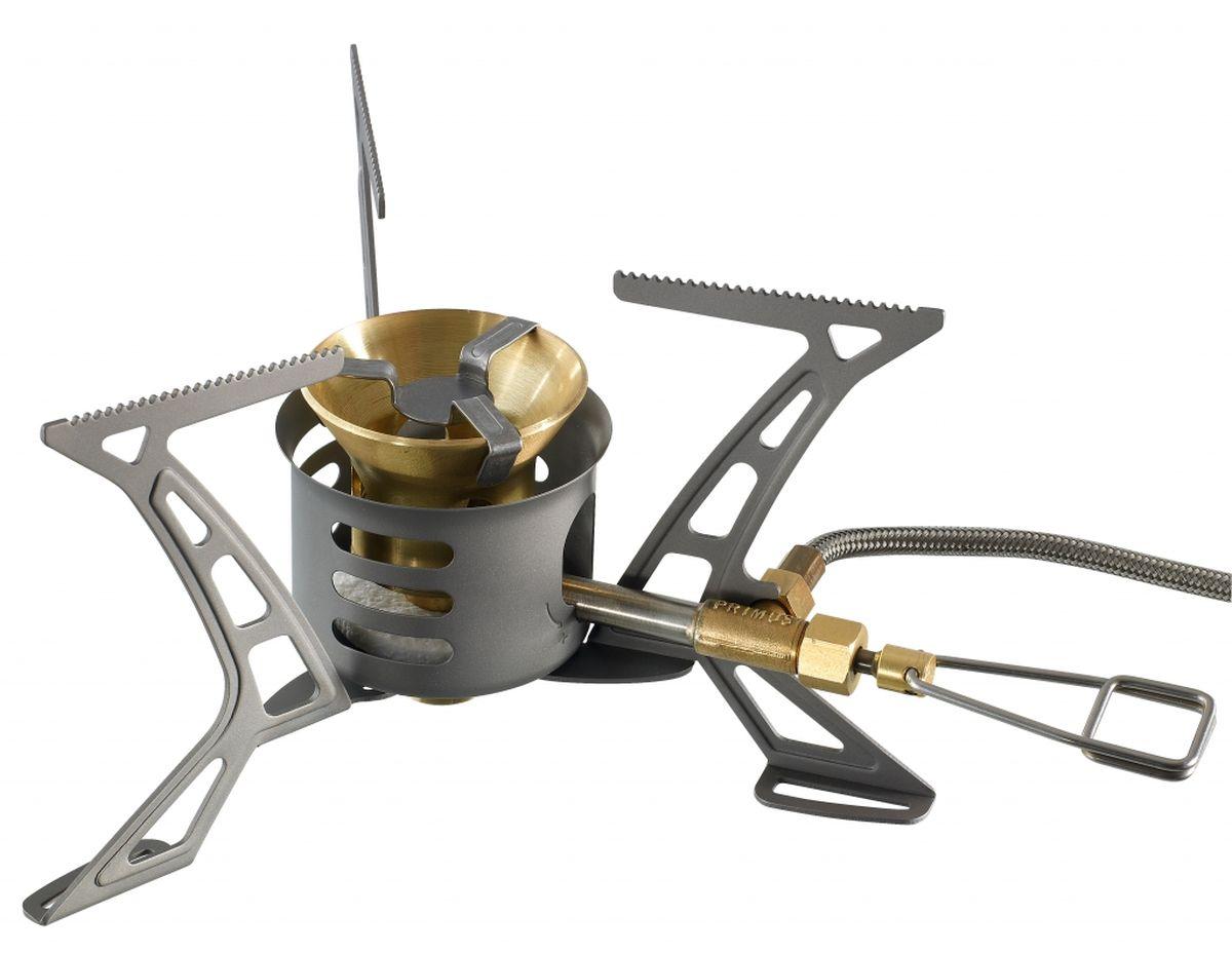 Горелка мультитопливная Primus Omni Lite Ti. P321988P321988Компактная и надежная горелка-выход был адаптирован для нового поколения экономичных емкостей с теплообменником -работает с газом, бензином , дизельным топливом, керосином, авиационным топливом -В комплект входит: ErgoPump, многофункциональный инструмент с иглой для прочисткижиклёра, отражателя со складными ножками, прочный чехол . -Высота 90 мм (3,5 дюйма) -Глубина 114 мм (4,5 дюйма) -Диаметр 55 мм (2,2 дюйма) -Вес (г) 239 г (8,4 унции) -Вес г (с топливным насосом) 341 -Мощность (Вт): 2600