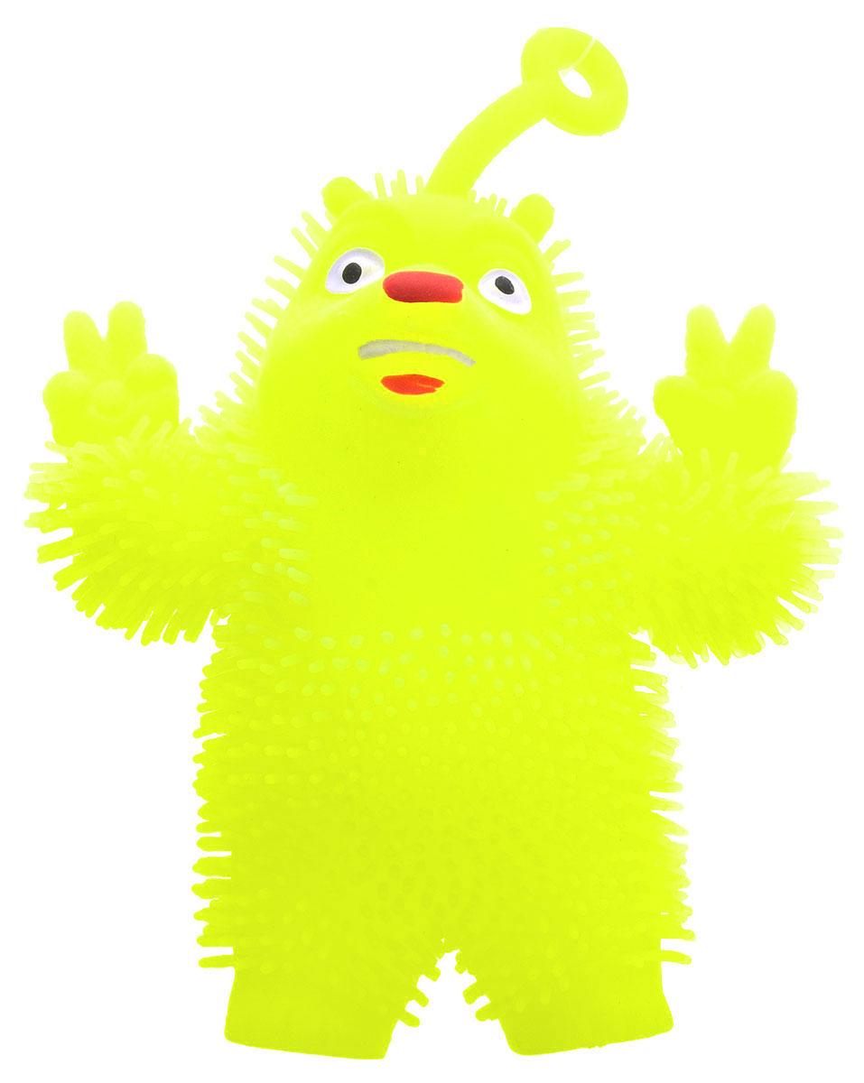 1TOY Игрушка-антистресс Ё-Ёжик Медвежонок-хиппи цвет желтый техника ё ёжик со светомт56556