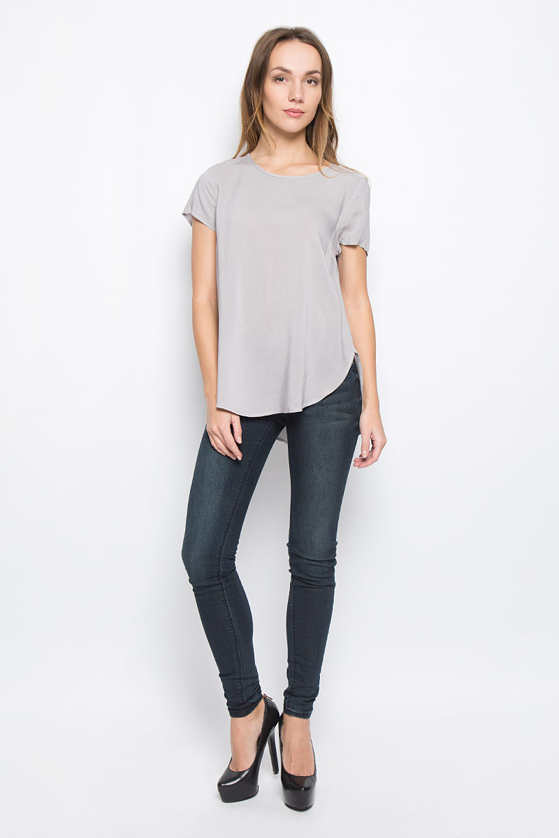 Блузка женская Broadway Rayanna, цвет: светло-серый. 10156632_893. Размер XS (42) пуловеры broadway пуловер