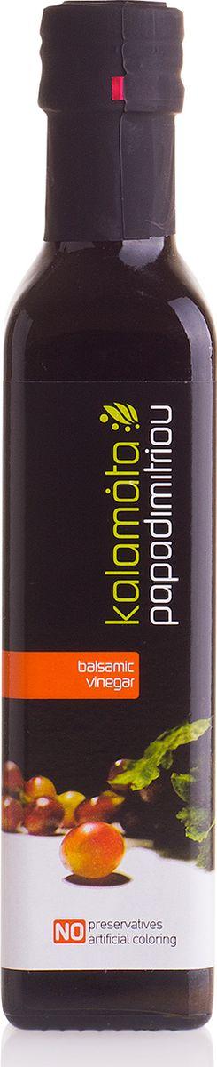 Papadimitriou бальзамический уксус Каламата, 250 мл12.0001Бальзамический кремовый уксус Каламата Пападимитриу - натуральный продукт, который производится из высушенного винограда, произрастающего в виноградниках южной части полуострова Пелопоннес. Изготовлен по популярному греческому рецепту. Не содержит красителей и консервантов.