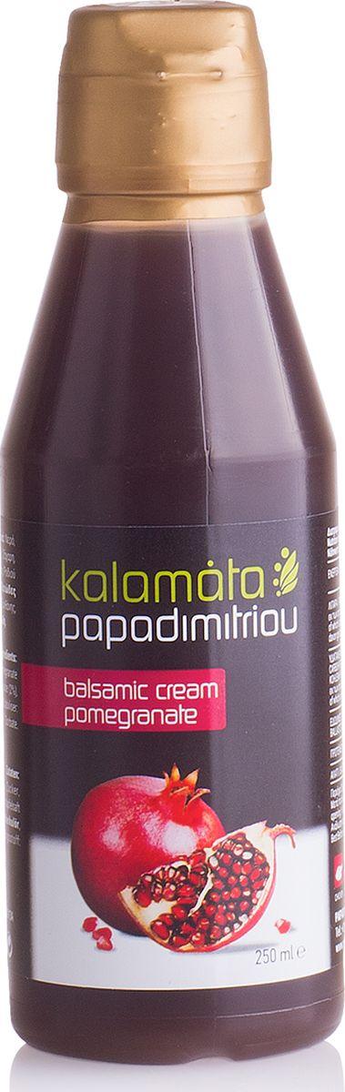 Papadimitriou бальзамический соус с гранатом , 250 мл12.0021Бальзамический соус Каламата Пападимитриу приготовлен по традиционному рецепту на основе классического бальзамического уксуса с гранатом.Отличается приятным фруктовым ароматом и кисло-сладким вкусом.Соус прекрасно сочетается с рыбой и морепродуктами, куриным мясом, отварными овощами, свежими грибами, авокадо и различными десертами. Используется для приготовления соусов, легких закусок, подливок и бульонов.