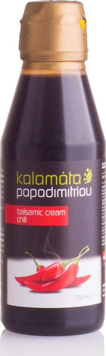 Papadimitriou бальзамический соус чили, 250 мл12.0023Бальзамический соус чили отличается приятным ароматом и кисло-сладким вкусом с ярко выраженными пряными нотками.
