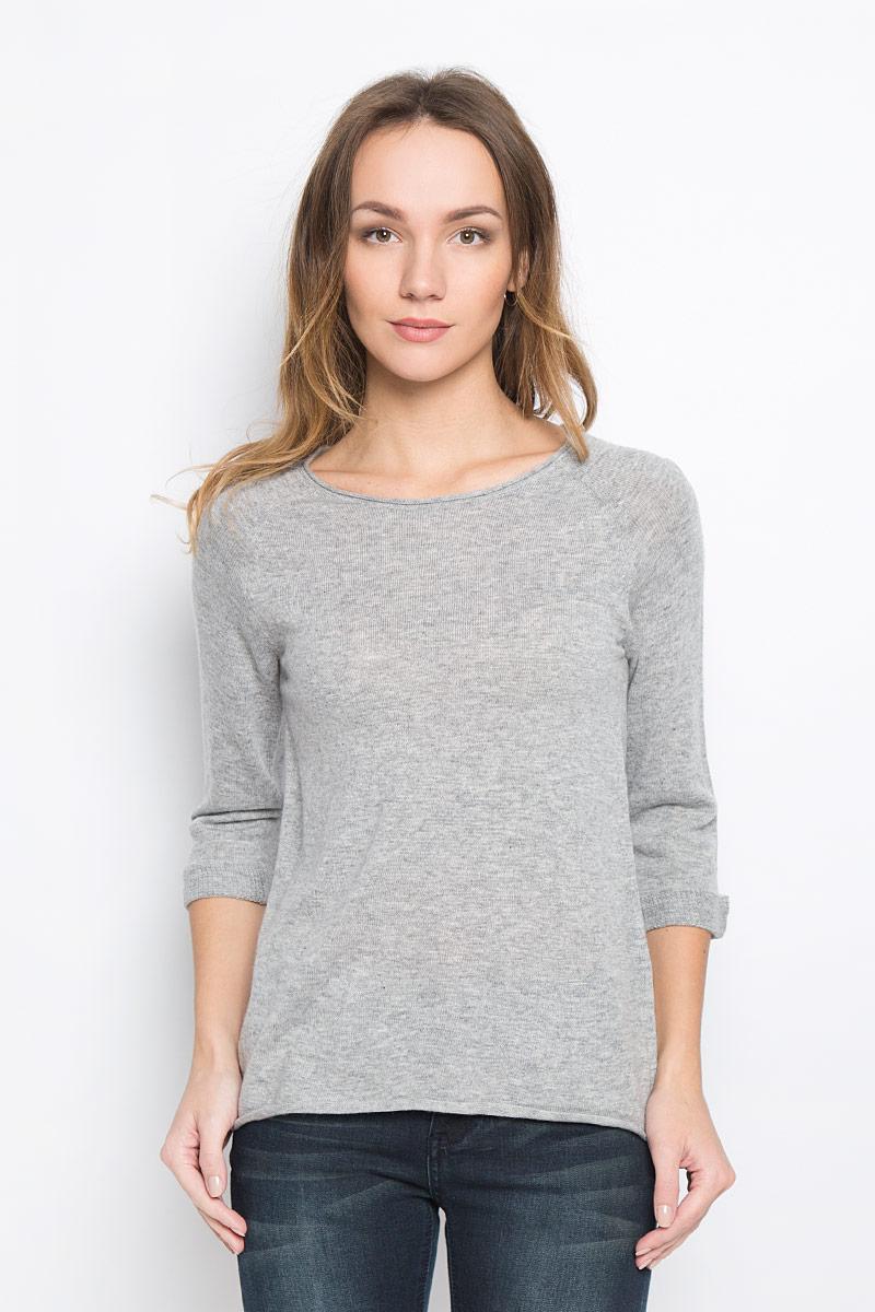 Пуловер женский Broadway Telina, цвет: серый. 10156956_807. Размер M (46) юбка broadway sevi цвет темно серый белый 10156901 833 размер m 46