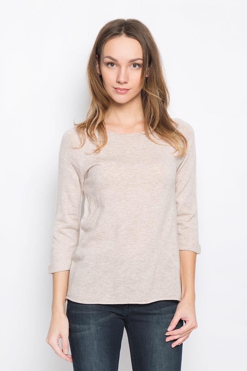 Пуловер женский Broadway Telina, цвет: бежевый. 10156956_703. Размер M (46) пуловеры broadway пуловер