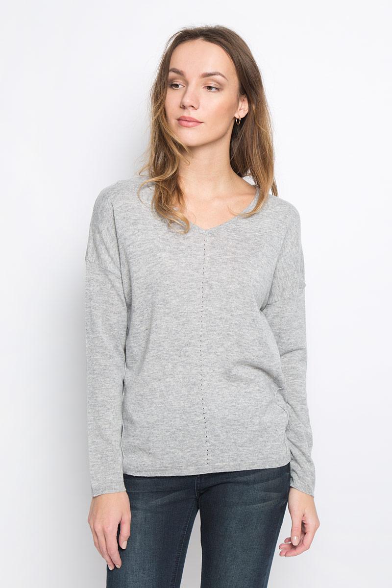 Пуловер женский Broadway Raygan, цвет: светло-серый. 10156854_807. Размер S (44) женский пуловер women s fashion boutique show 2015 s wf 4425