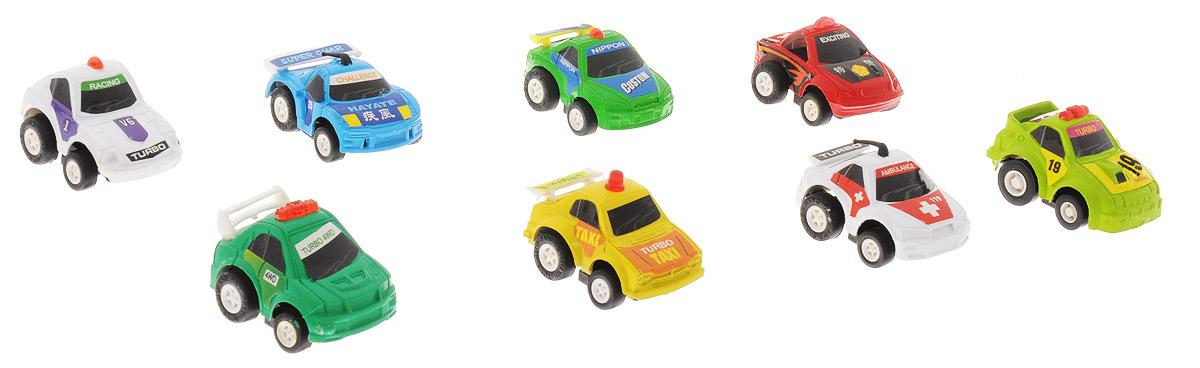 Дрофа-Медиа Набор инерционных машинок Speedy Cars 8 шт игрушка врумиз набор инерционных машинок спиди софи слон пожарный