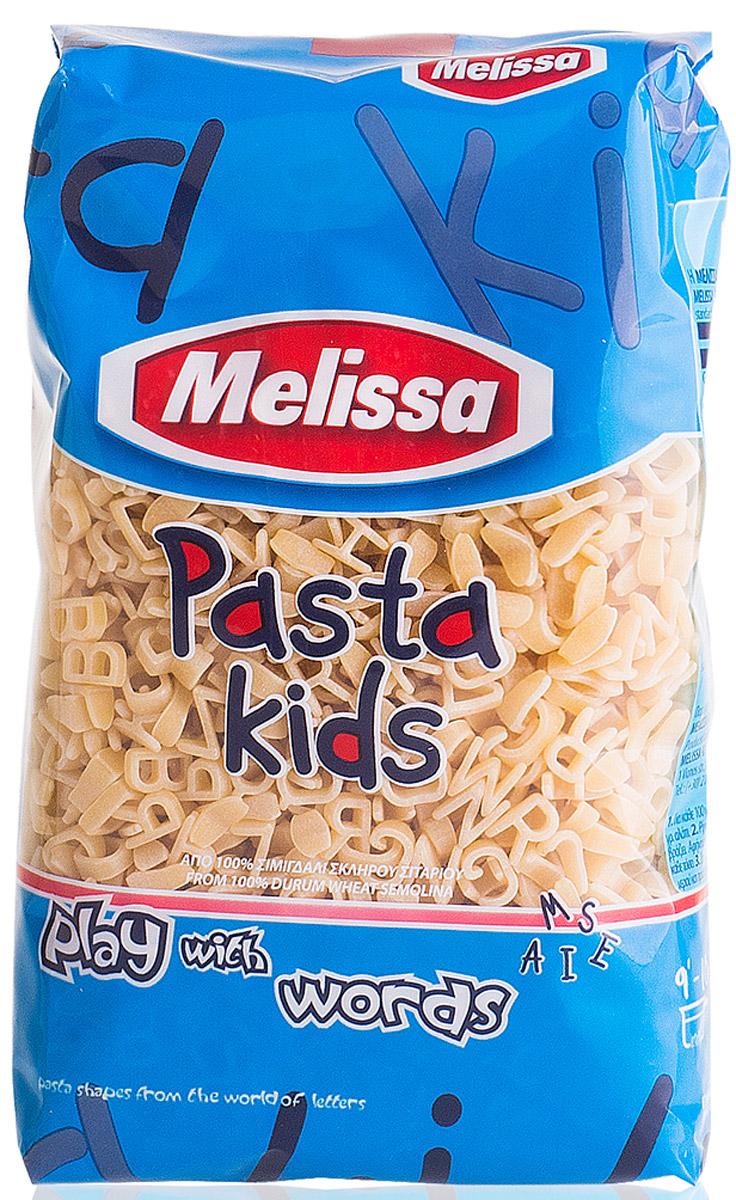 Melissa Kids паста Буквы, 500 г melissa паста пенне ригате коричневые перья 500 г