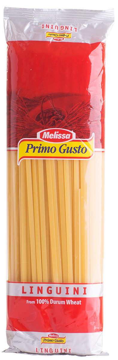 Melissa-Primo Gusto Паста Линквини лапша, 500 г melissa паста пенне ригате коричневые перья 500 г