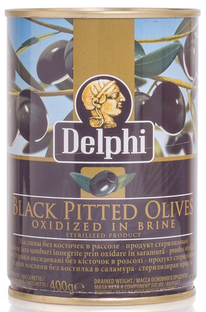 Delphi Маслины без косточки в рассоле Superior 261-290, 400 г delphi маслины без косточки в рассоле colossal 121 140 820 г