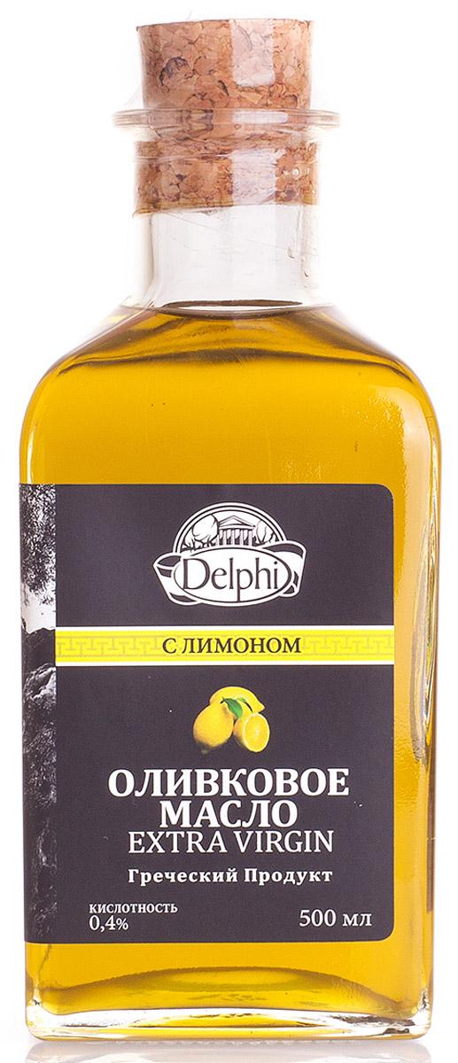 Delphi масло оливковое Extra Virgin с лимоном, 500 мл81.0008Масло оливковое холодного отжима с острова Крит Экстра Вирджин. Кислотность 0,4%. Оливковое масло получают холодным прессованием самых лучших маслин с острова Крит. Масло рекомендовано для профилактики как сердечно-сосудистых, так и желудочно-кишечных заболеваний, благодаря натуральным веществам, которые содействуют защите организма от болезней и старения.