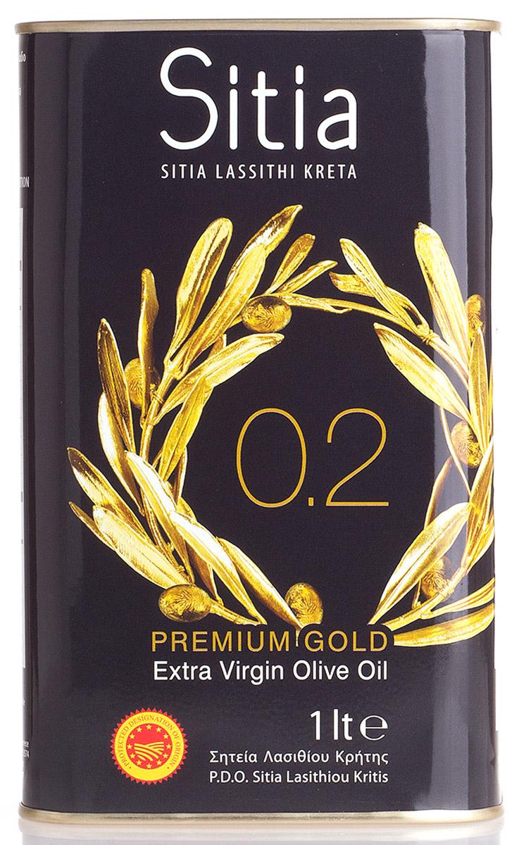 Sitia масло оливковое Extra Virgin кислотность 0,2%, 1 л