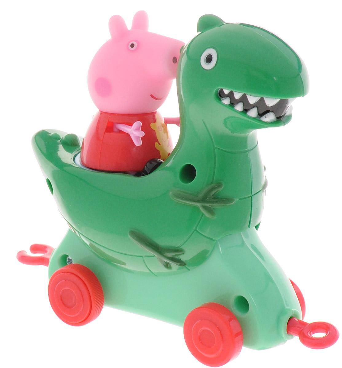 Peppa Pig Игровой набор Пеппа и Каталка Динозавр peppa pig игровой набор кухня пеппы
