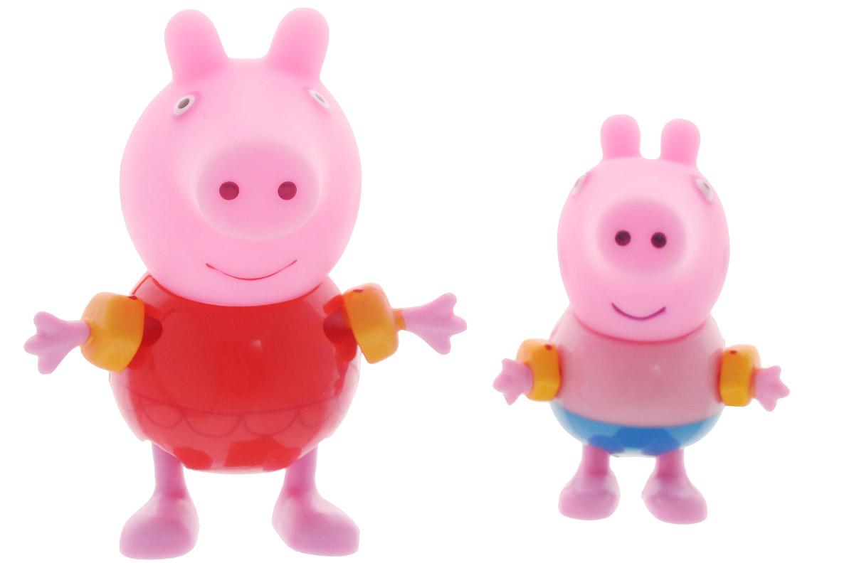 Peppa Pig Набор фигурок Пеппа и Джордж в нарукавниках