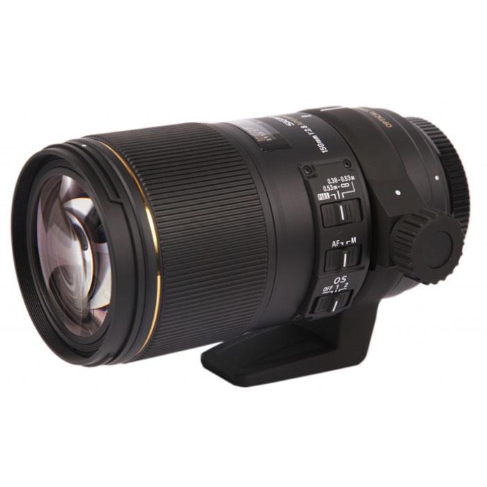 Sigma AF 150mm f/2.8 APO Macro EX DG OS HSM макрообъектив для Canon EF - Объективы