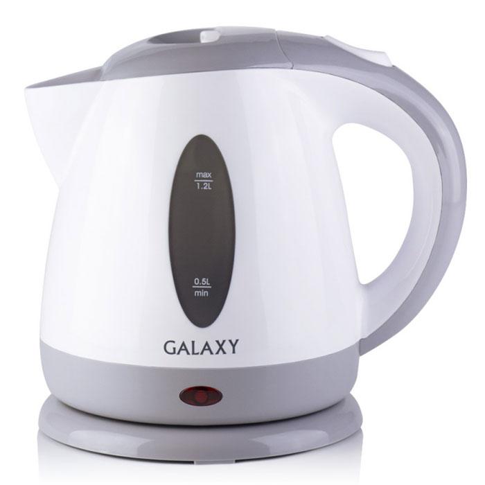 Galaxy GL 0222 электрический чайник4650067301587Galaxy GL 0222 - надежный электрочайник мощностью 2200 Вт в корпусе из качественного пластика. Прибор оснащен скрытым нагревательным элементом и позволяет вскипятить до 1,2 литра воды. Данная модель оборудована светоиндикатором работы, поворотной поверхностью 360° и фильтром для воды. Для обеспечения безопасности при повседневном использовании предусмотрены функция автовыключения, а также защита от включения при отсутствии воды.