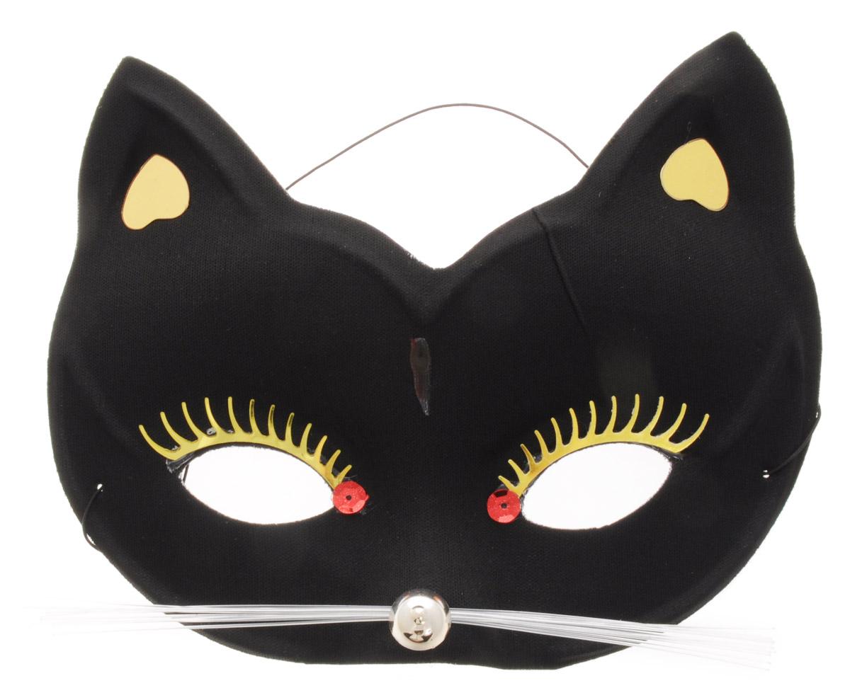 Rio Маска карнавальная Кошка цвет черный -  Маски карнавальные