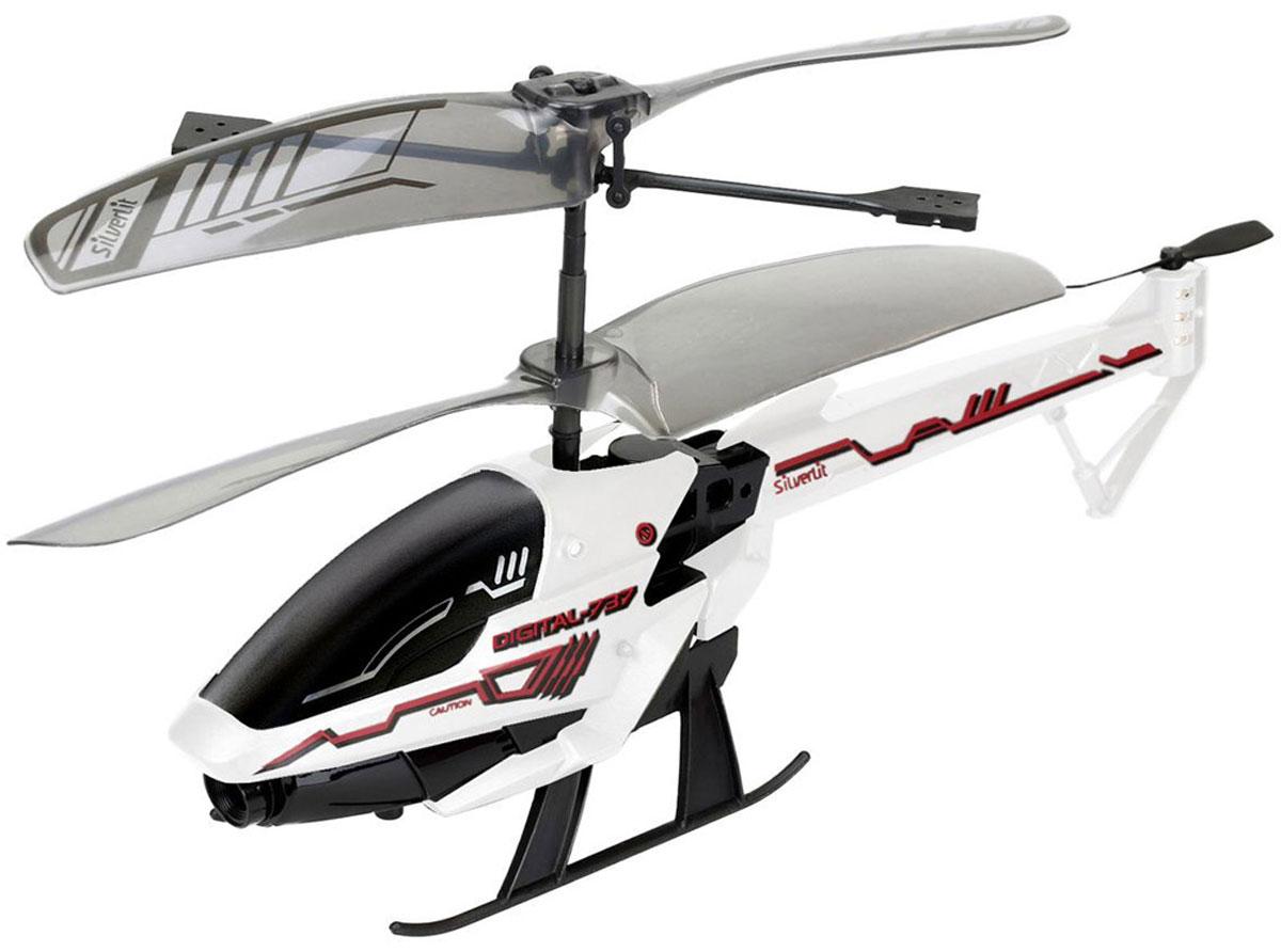 Silverlit Вертолет на инфракрасном управлении Spy Cam 3 самолеты и вертолеты silverlit вертолет 3 х канальный heli sniper 2 со стрелами зеленый