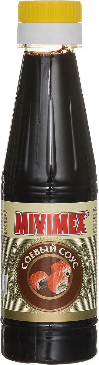 Mivimex Соевый соус, 200 г4607041134198Соевый соус Mivimex рекомендуется использовать в качестве соуса для мясных и рыбных блюд, приправы к птице и морепродуктам, салатам и гарнирам.