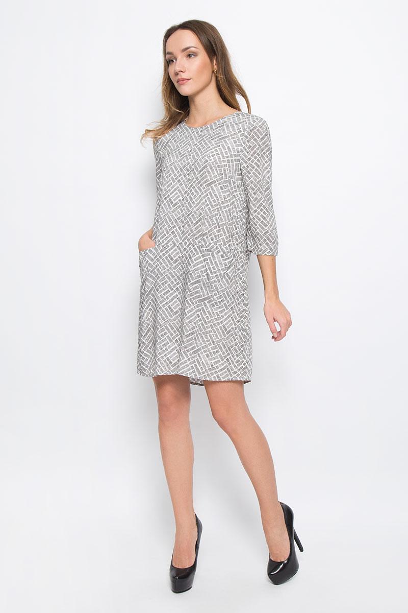 Платье Broadway Ravyn, цвет: белый, черный. 10156779_001. Размер M (46)