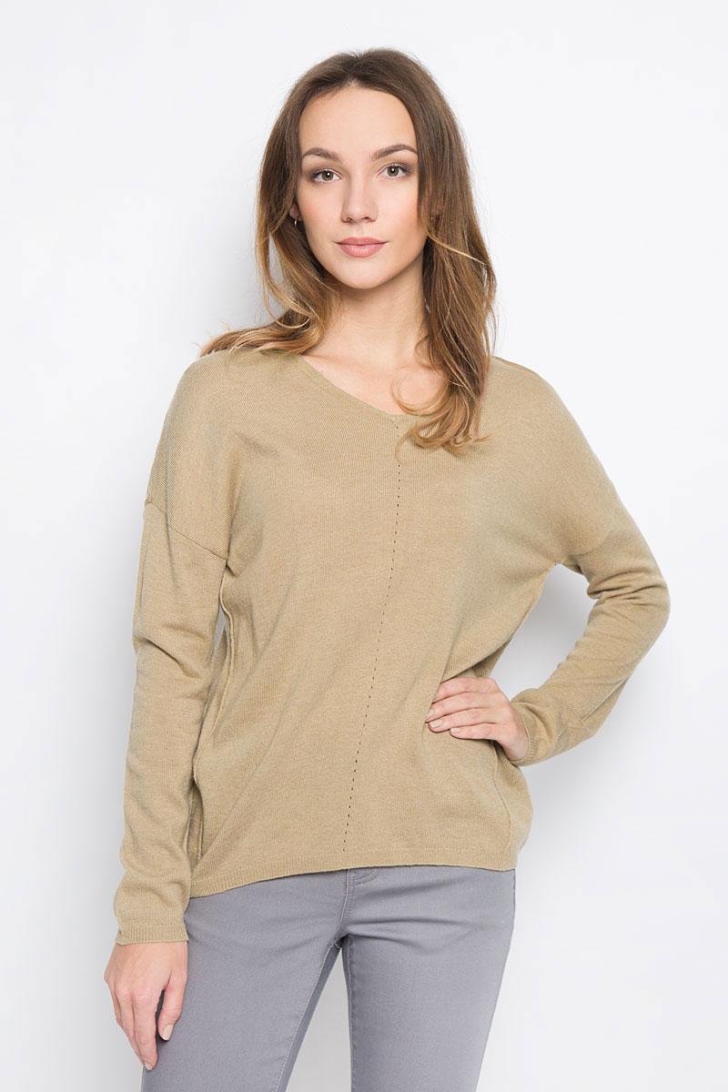 Пуловер женский Broadway Raygan, цвет: коричневый. 10156854_708. Размер S (44) женский пуловер women s fashion boutique show 2015 s wf 4425