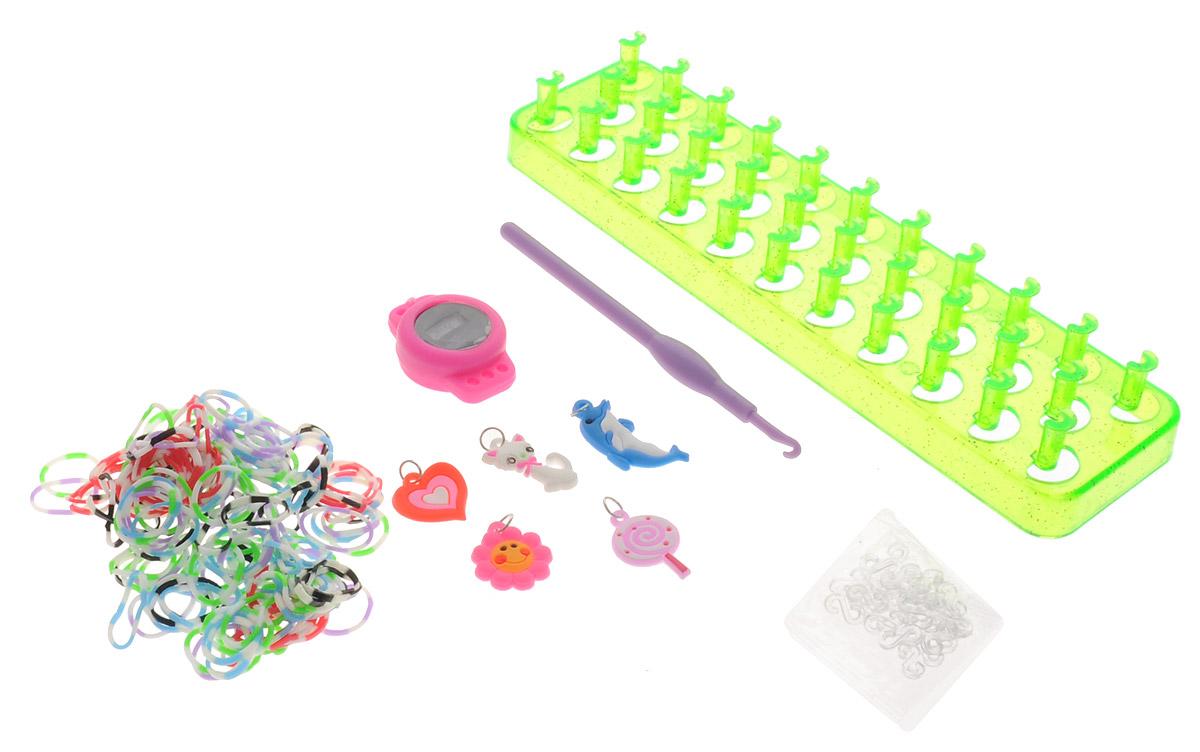 Felicita Набор для плетения из резиночек №1-3 цвет станка салатовый