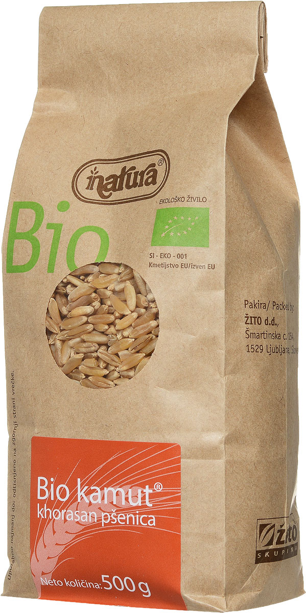 Zito Natura Bio Крупа камут органический, 500 г ufeelgood organic pumpkin seeds органические семена тыквы 150 г