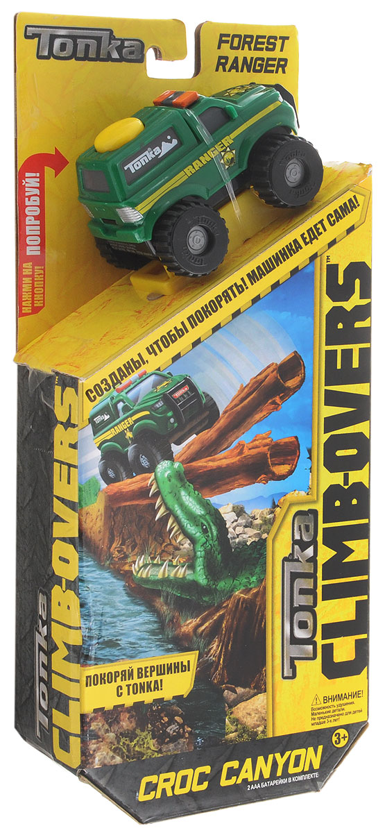 Tonka Игрушечный трек Forest Ranger motormax игрушечный трек мини заправочная станция