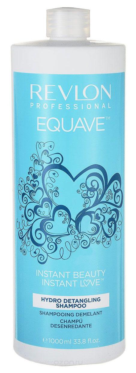 Revlon Professional Equave Шампунь, облегчающий расчесывание волос Instant Beauty Hydro Nutritive Detangling 750 мл7203682000Шампунь, облегчающий расчесывание волос уменьшает спутанность, обладает восстановительным, укрепляющим эффектом. Препятствует возникновению сухости и придает волосам здоровый блеск и красоту.Специалисты компании Revlon создали для ослабленных, ломких, поврежденных и путающихся волос шампунь Hydro Detangling Shampoo с повышенным содержанием кератина. Этот шампунь создан на базе новых разработок компании и значительно облегчает процедуру расчесывания и укладки волос.Вы испытаете восхитительное ощущение легкости и чистоты! Шампунь мягко и глубоко очищает и кондиционирует волосы, укрепляет их и оздоравливает. Благодаря кератиновому питанию они становятся мягкими и прочными, здоровыми и сияющими.