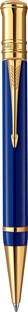 Parker Ручка шариковая Duofold Lapis-Blue GT черная