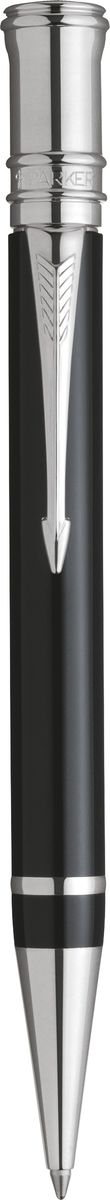 Parker Ручка шариковая Duofold Black PT черная